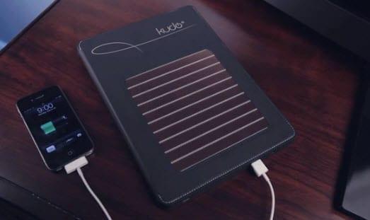 Wireless NRG powers iPad with solar energy 1