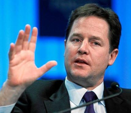 Prime Minister Nick Clegg