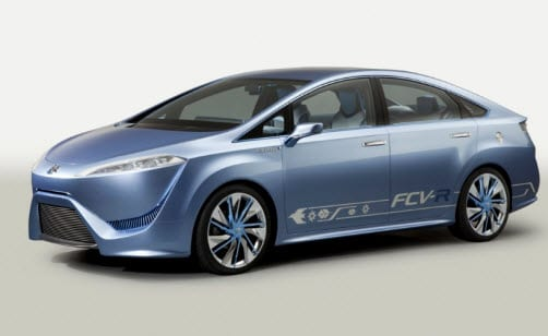 Toyota's hydrogen fuel concept vehicle revealed
