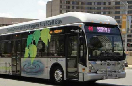 CTE launches test of hydrogen fuel bus