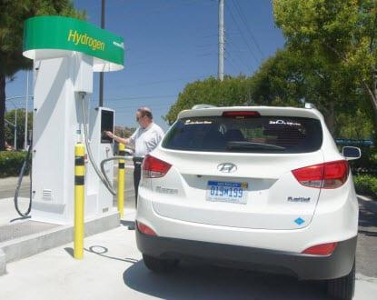 mobile hydrogen fueler