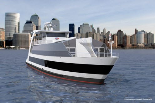 Hornblower hydrogen fuel ferry