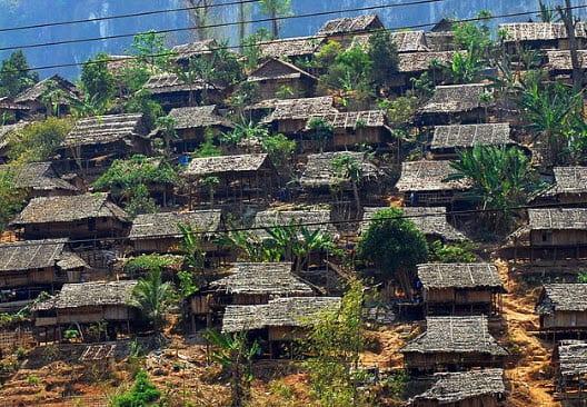 Solar energy along the Thailand-Burma border