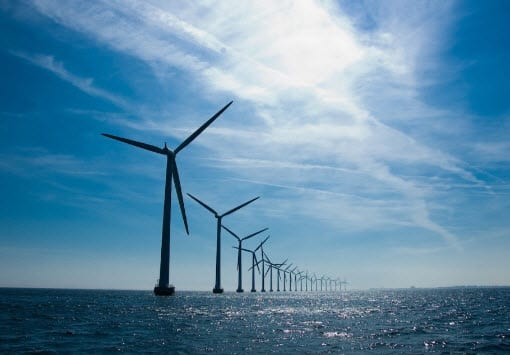 Largest offshore wind energy system comes online in the UK