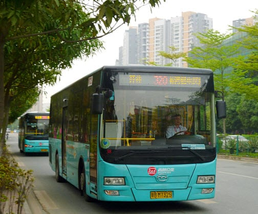 Hydrogen Fuel - hybrid bus in China