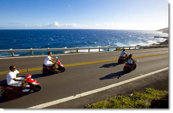 Hydrogen scooters coming to Hawaii