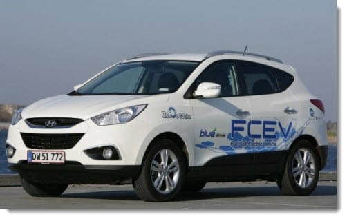 Hyundai provides Denmark with 15 new hydrogen powered vehicles