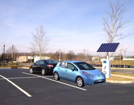 sunstation electric car charging station