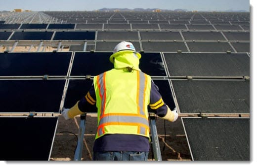 New legislation could damage the Aqua Caliente solar project