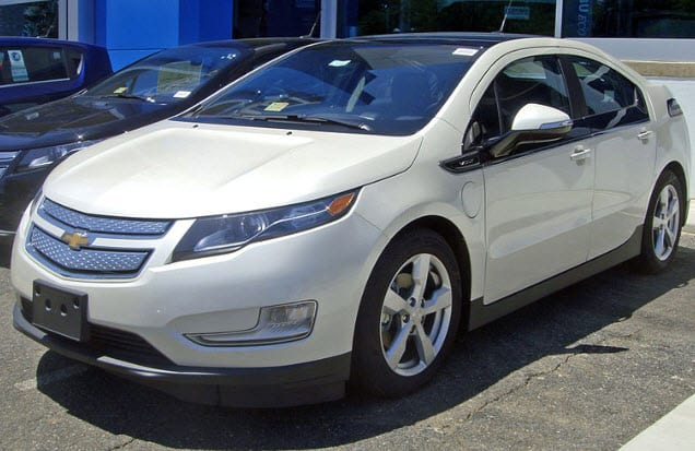Chevrolet Volt Electric Vehicles