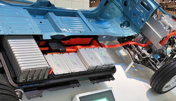 Nissan Leaf lithium-ion battery