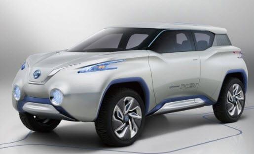 Nissan Terra hydrogen powered car