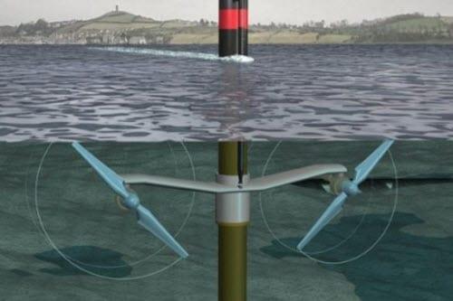 SeaGen Tidal Energy Turbine - Marine Energy