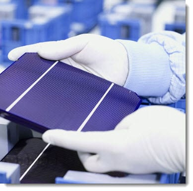 Solar energy - solar cell research