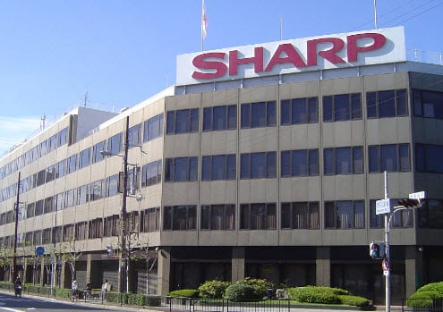 The Sharp Corporation transparent solar cells