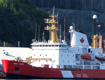 Hydrogen fuel cells coming to Canadian Coast Guard ships