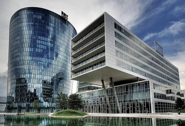 OMV Headquarters in Vienna
