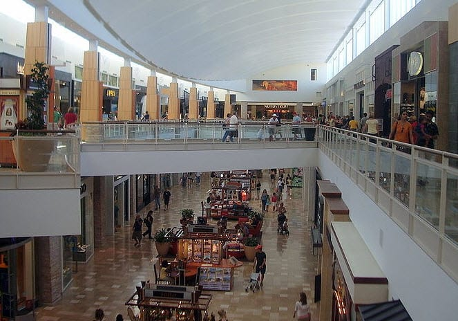 Solar energy projects in malls