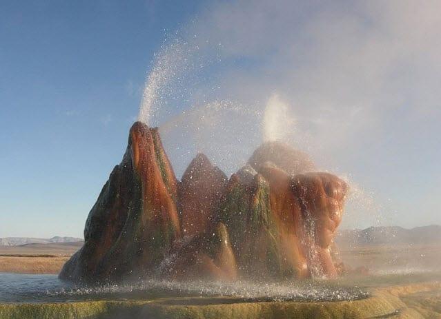 Utah Geothermal Energy Sources Fly Geyser