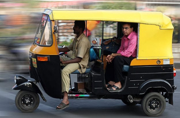Hydrogen powered autorickshaws making the streets of Delhi cleaner