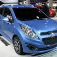 Automaker unveils new Chevy Spark electric vehicle Chevrolet has revealed the Chevy Spark electric vehicle this week. The new model is billed as an improvement on the Chevy Volt, which...