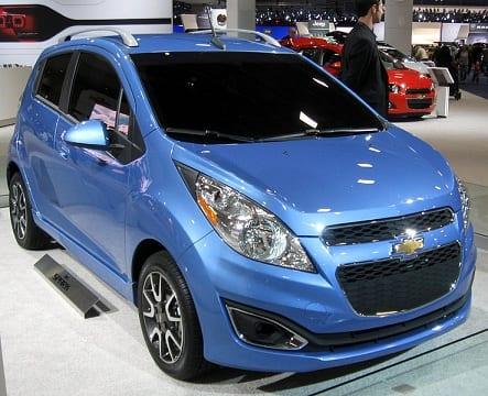 Chevy Spark revealed by Chevrolet