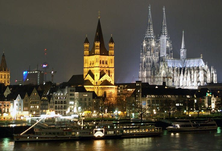 Cologne, the largest city of North-Rhine Westphalia