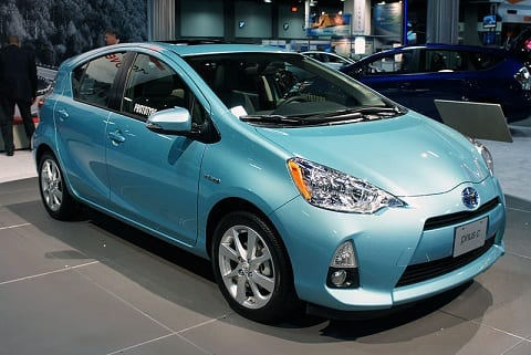 Toyota Prius electric vehicles