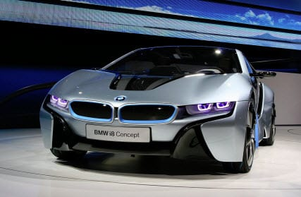 BMW i8 concept car - electric cars