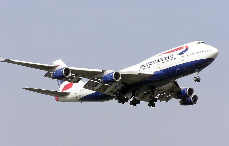 British Airways Biofuel