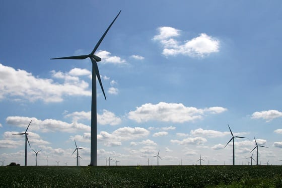 American Wind Energy Association proposes to phase out Production Tax Credit