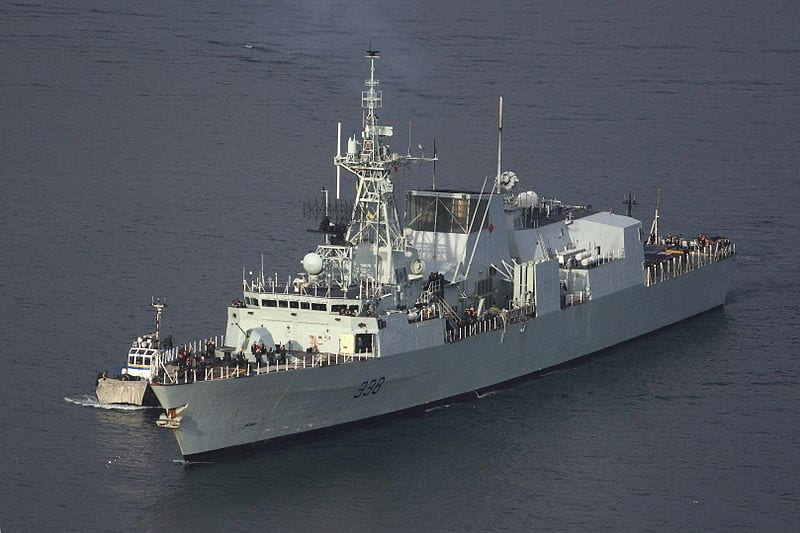 Biofuels could transform Canada's Navy