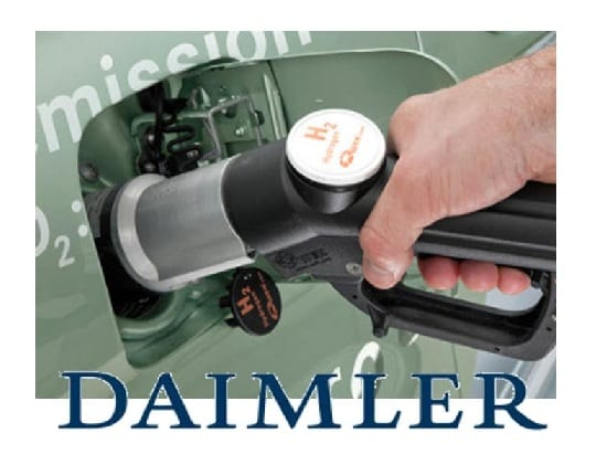 Daimler - hydrogen fuel vehicles