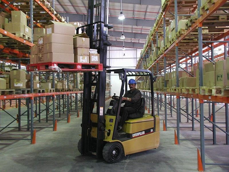 Hydrogen fuel finds success in materials handling