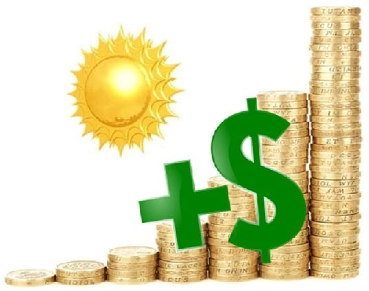 Solar energy affordable