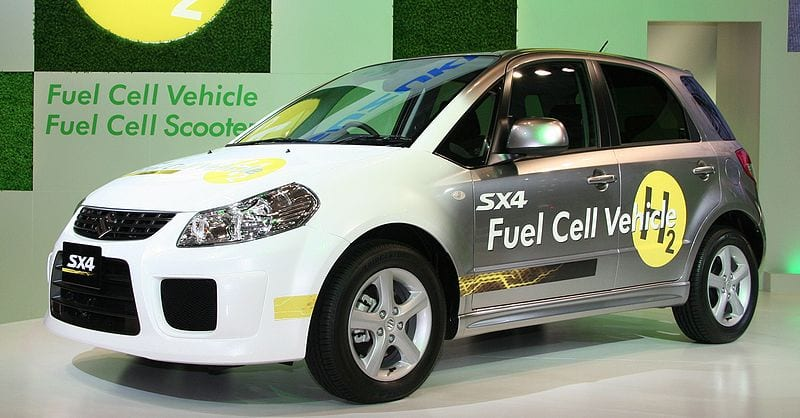 Suzuki SX4 Hydrogen Fuel Cell Vehicle