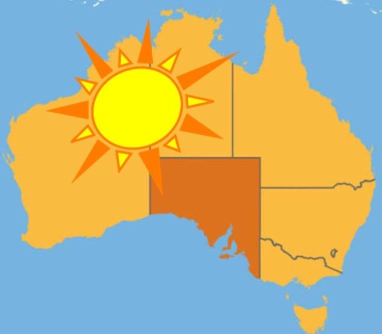 solar energy south australia