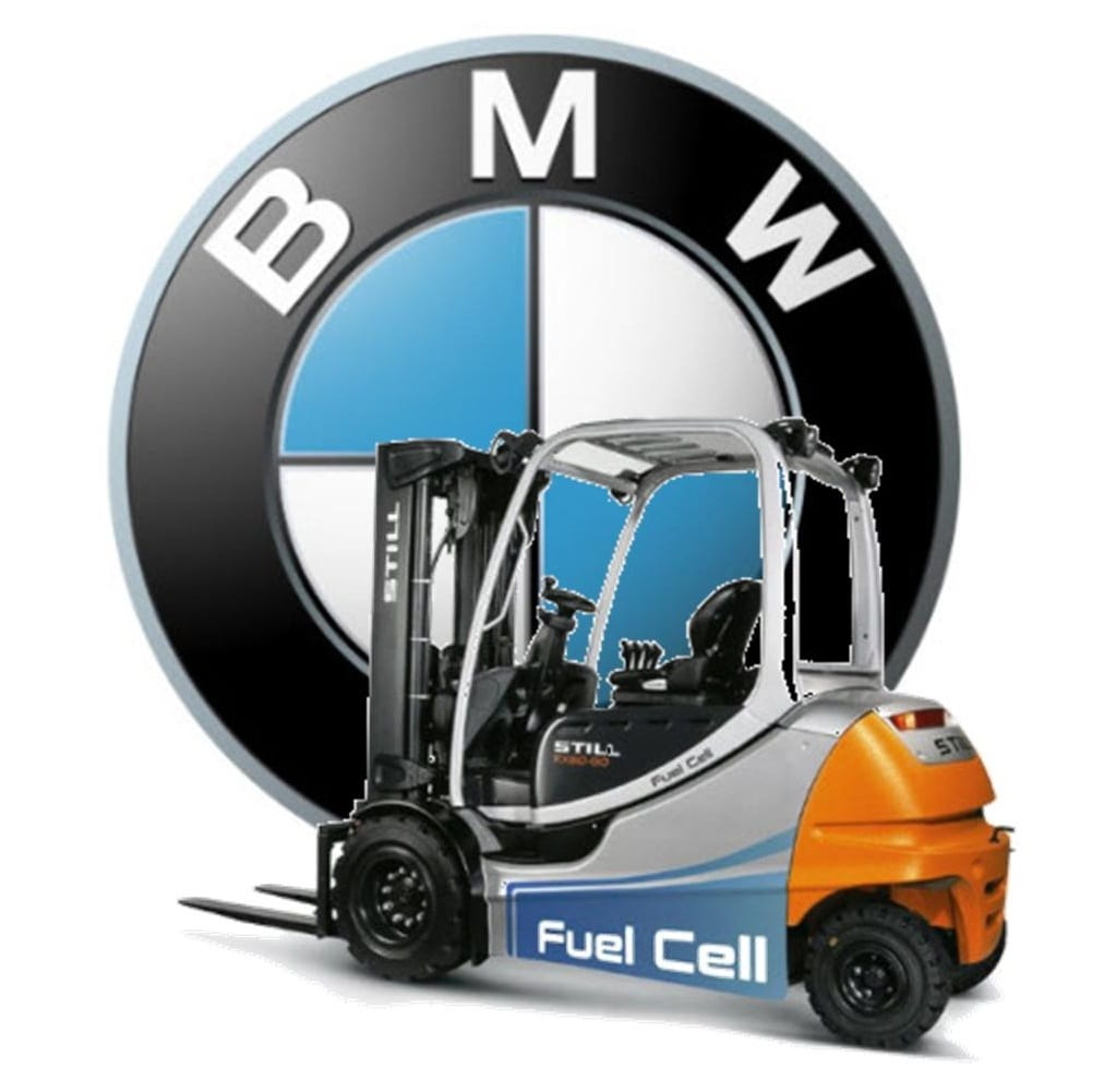 BMW Hydrogen Fuel Materials Handaling Vehicles