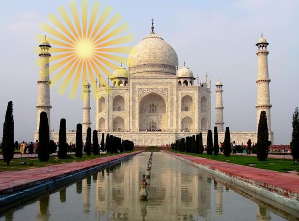 India Solar Energy Project Taj Mahal