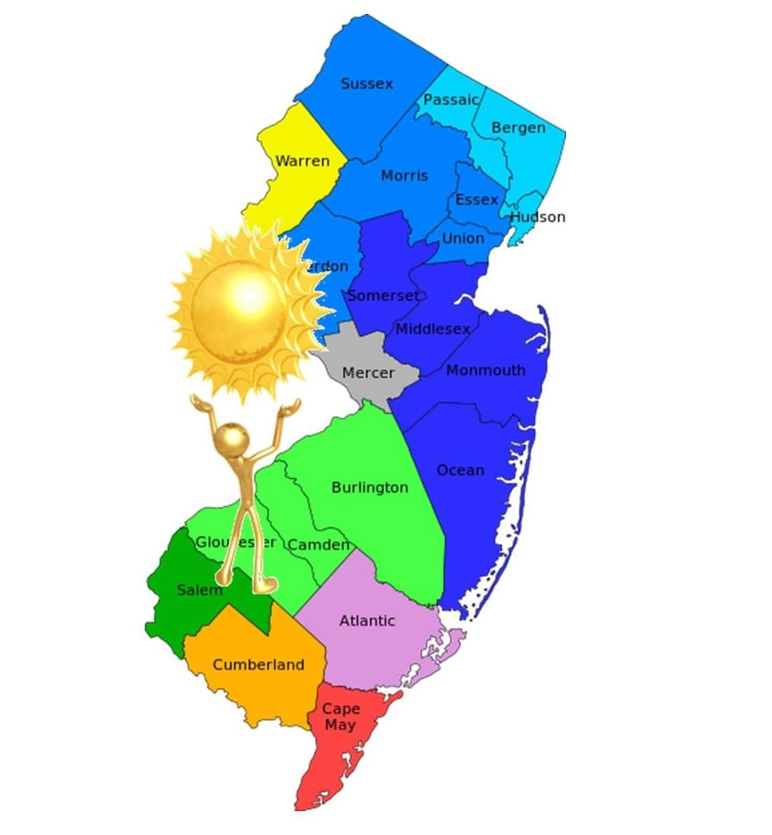 New Jersey reaches solar energy milestone