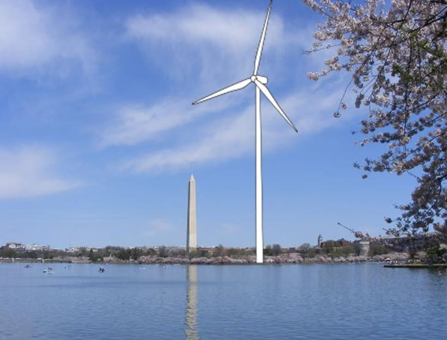 DC uses wind energy to become bastion of sustainability