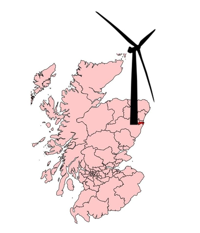 Aberdeen, Scotland Offshore Wind Energy
