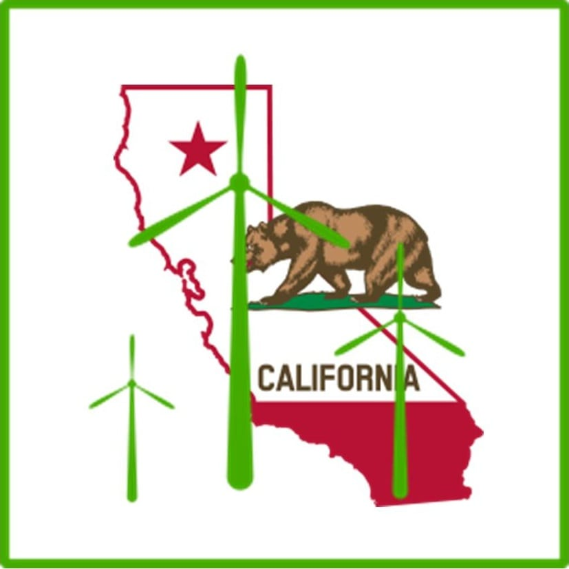 Wind energy gaining ground in California