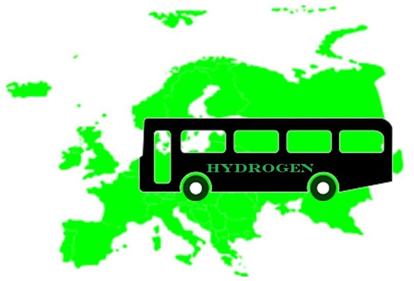 Hydrogen fuel buses becoming common in Europe