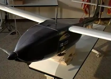 Navy drone sets new record with the help of hydrogen fuel