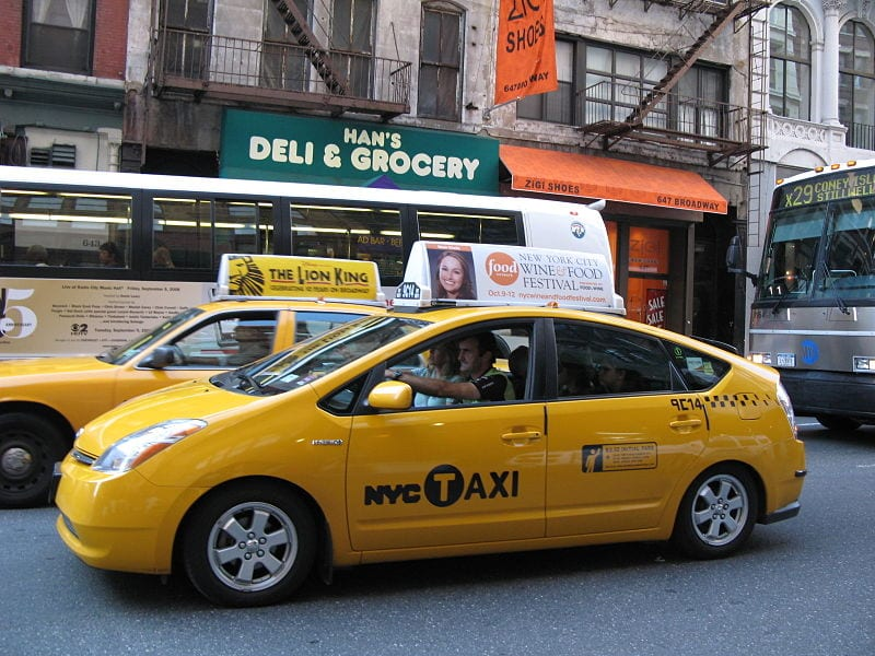 NYC Taxi - New York electric vehicles project