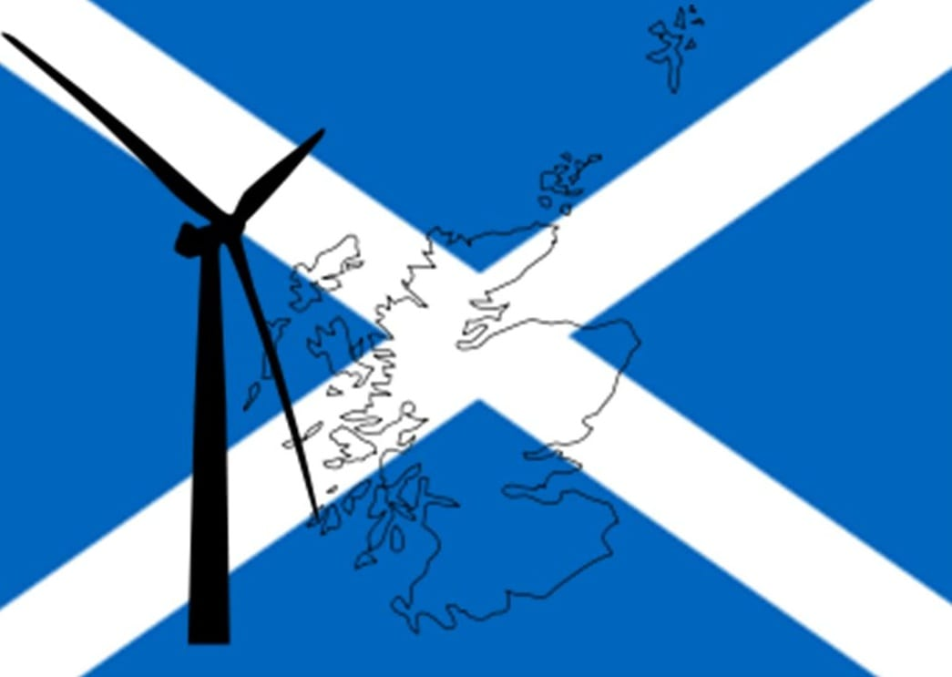 Wind energy gains more support in Scotland