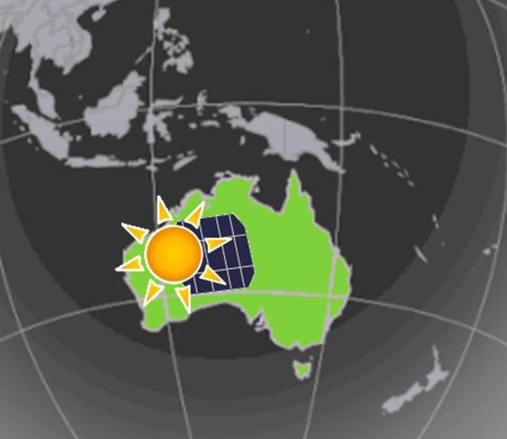 New solar energy system comes online in Australia