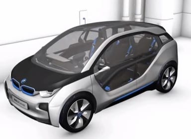 BMW i3 electic vehicle