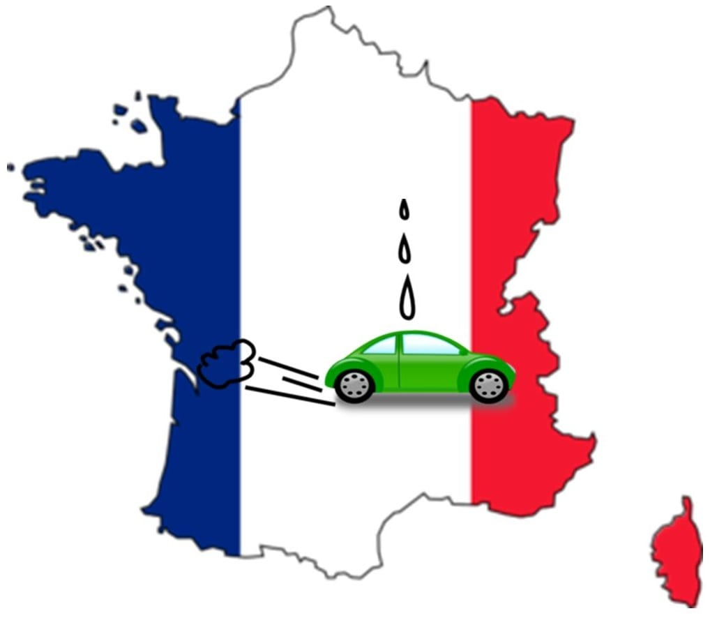 France - Hydrogen Fuel Station